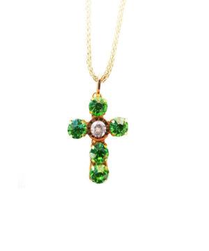 cruz colgante mujer