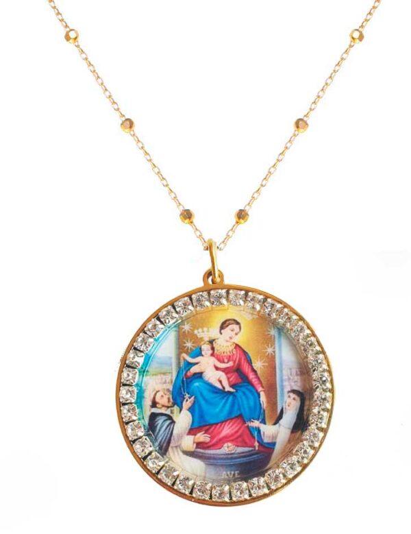 medallon virgen