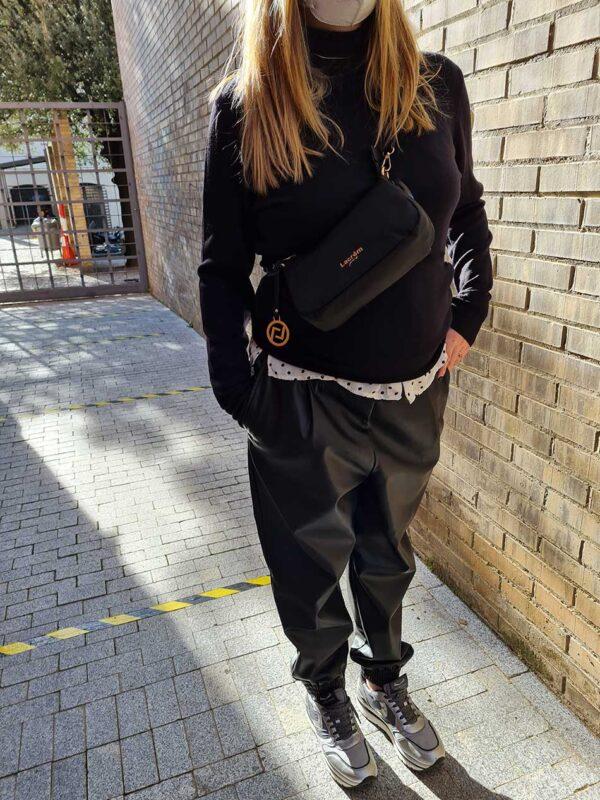 Bolso rue rennes negro